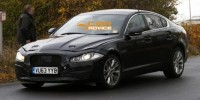 Jaguar XF Has Been Spotted Near The British Brand's Test Centre at The Nurburgring