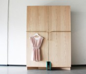 Walk-in-Closet Is a Smart Storage Unit Designed to Solve The Problem of Space-Saving