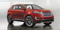 Ford Edge Concept Has Been Unveiled at The Los Angeles Auto Show