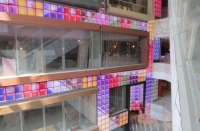 QS-TECH Successfully Completed The Glass Full Colour LED Display Project in Shanghai City