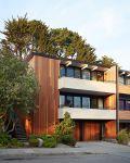 White and Mahogany Palette Revitalizes 1962 Eichler Home in San Francisco