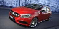 The Mercedes-Benz A45 AMG Aim at Younger Buyers.