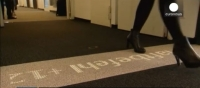 Desso & Philips Invented LED Carpet to Guide People by Illuminating Routes,Safety Exits