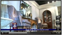 China Became North Carolina's Fastest Growing Importer of The State's Furniture