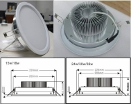 15W LED Downlight Is The Amazing Luxury and Hottest Sell Product