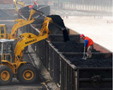 China's Coal Output Down 1.44 Percent in January-August