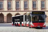 Mercedes-Benz Has Unveiled 21m Long Bus Called Capacity L