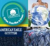 AEO Announced a Continued Partnership for The Cotton.From Blue to Green