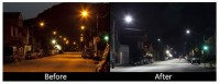 LED Street Lighting Saving on Energy Costs