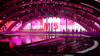 A Shining Background with The Vivid Stage LED Displays