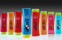 M&H Plastics Packages Asda Shampoos in PET Contour Bottle