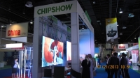 2013 Shenzhen Chipshow Company Attended The Sign&Graphic Imaging Middle East Exhibition