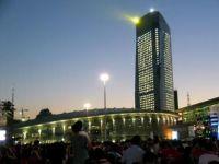 LED High-Pole Lamps Installs in Harbin International Exhibition Center
