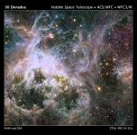 A Stunning Hubble Space Telescope Image of The Colorful 30 Doradus Nebula