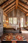 Rustic Details Make It Homier Because of Familiar Textures and Colors