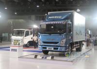 Nanjing Iveco Brought New Chaoyue Ltd Trucks on The Guangzhou Auto Show
