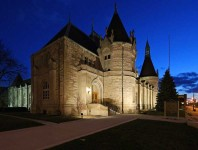 The Historic Castle Museum in Michigan Brings Its French Revival Style Architecture