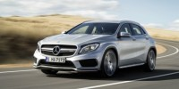 Mercedes-Benz GLA45 AMG Has Been Revealed to Combine a Sub-5sec 0-100km/H with Fuel Cost