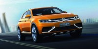 The Volkswagen Crossblue Coupe Concept Has Debuted at The Shanghai Auto Show