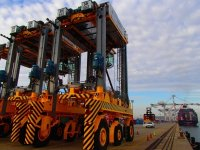 The Expansion of DP World's Container Handling Facilities Entered Its Next Phase