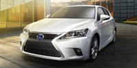 Lexus CT200h Revealing Updated Exterior Styling for The Premium Hybrid Hatchback