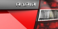 A Teaser Image of What Could Be a New Skoda Rapid RS Model Has Been Released