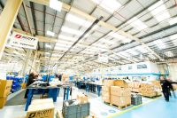 MHA Lighting will replace all the existing T5 fluorescent fittings in Warehouse