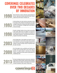 Next Year, Coverings Will Celebrate Its 25th Anniversary From April 29-May 2, 2014
