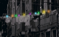 Clothespins Collects Sunlight Throughout The Day and Illuminate City Streets at Night
