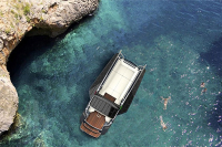 Expand Space on The Calm Sea by Yacht