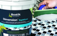 Dimension RapidCure Offers Lifetime Stain and Superior Crack Resistance