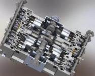 Advance New Concept Engine for LNG Vehicles