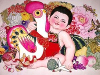 Life with The Folk Art-Historical Themes