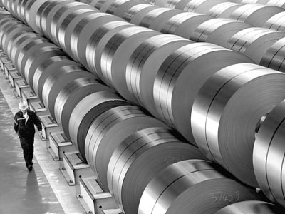 Fitch: China Steel Production Capacity to Peak in 2016