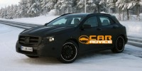 Mercedes-Benz GLA45 Amg Compact Crossover Has Been Spied for The First Time