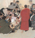 Chinese Painters Give Traditional Art New, Realistic Touch