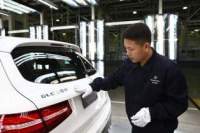 Mercedes-Benz Starts Production of GLC SUV in China