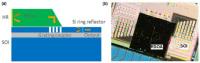 Flip-Chip Hybrid External-Cavity Laser Array on Silicon Platform