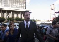 John McAfee Has Been Detained by Immigration Police in Guatemala