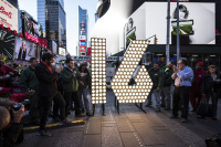 LED Bulbs from Philips Highlight 2016 Times Square Ball Numerals in NYC