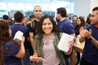 Apple's Grand Opening in Mexico