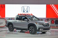 Honda Ridgeline Pickup Truck Showcased at Canadian International Auto Show