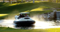 Cruise The Fairways in This New Hovercraft Golf Cart by PGA Star Bubba Hudson