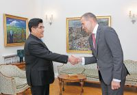 Wang Yupu Meets with Iceland's President Gudni Johannesson