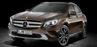 Mercedes-Benz Has Announced The New GLA SUV at The Forthcoming International IAA in 2013