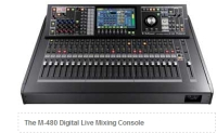 The Roland M-480 Digital Live Mixing Console Have Recently Been out on a Three- Week