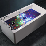 This Underwater Disco Light Is Sure to Liven up That Boring Old Bathtub Experience