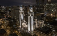 Seattle's St. James Cathedral Glows with Digitized LEDs from Lumenpulse