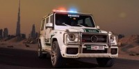 The Dubai Police Force Has a New Recruit, a Mercedes-Benz G63 AMG Tuned by Brabus