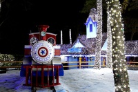 U.S. Theme Park Celebrates Holiday Season with LED Lights